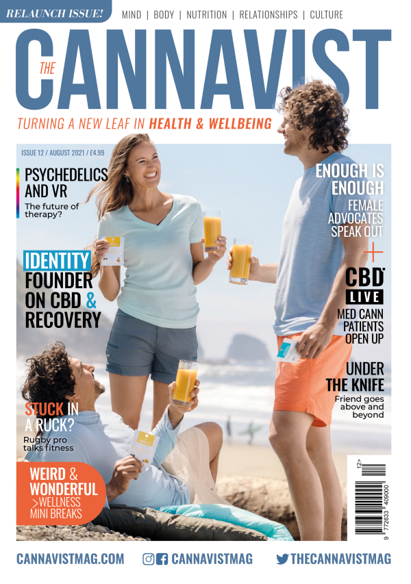 Cannavist Magazine Issue 12 front cover