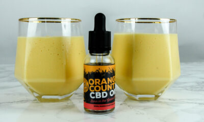 CBD Smoothie, sponsored by Orange County CBD