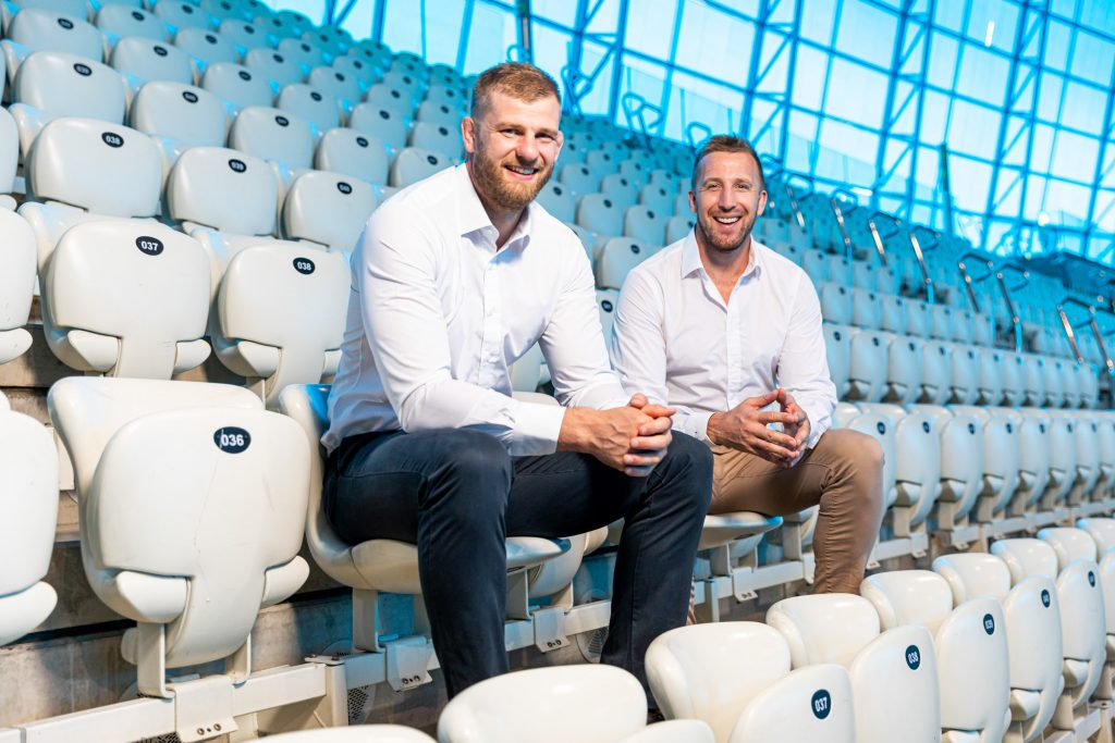 fourfive founders George Kruis and Dom Day pictured